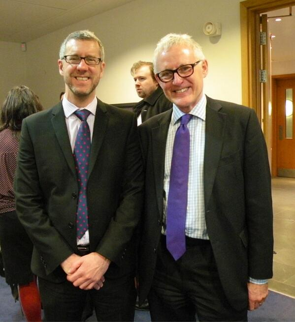 Warren Larkin with Norman Lamb